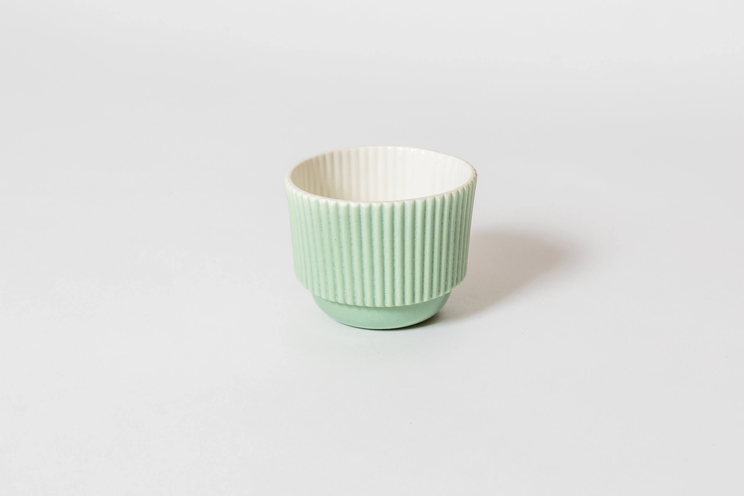 Kubek Jelly Striped/ Small/ Mint